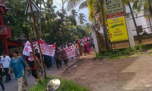 March against prostitution