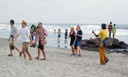 Vendors on beaches